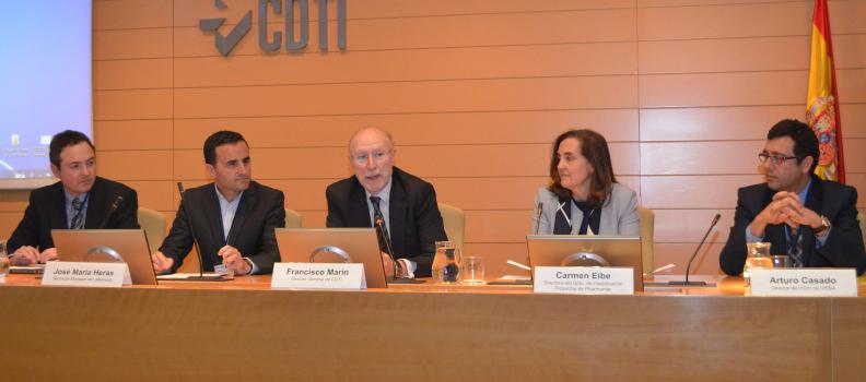 El CDTI reconoce la labor del Consorcio VINYSOST en materia de comunicación